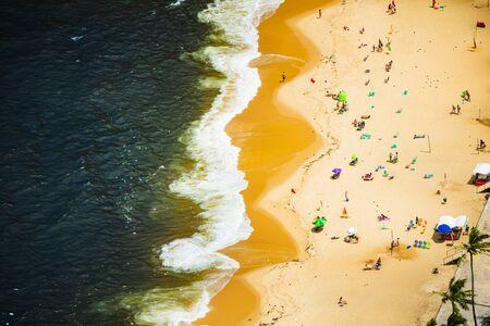 Vermelha Beach in summer, Rio de Janeiro, Brazil Standard-Bild - 146874607