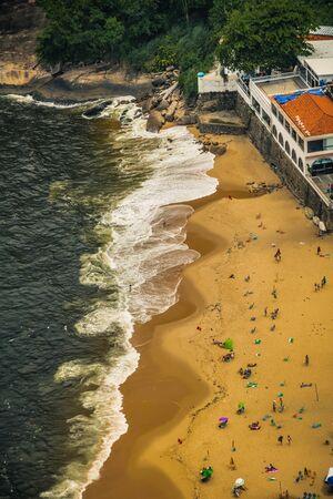 Vermelha Beach in summer, Rio de Janeiro, Brazil Standard-Bild - 146874611