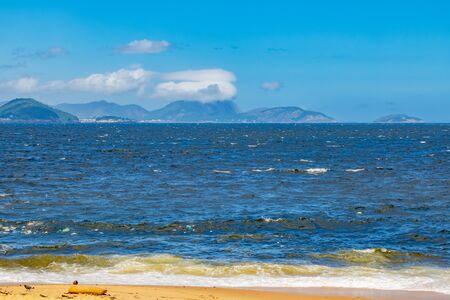 Vermelha Beach in summer, Rio de Janeiro, Brazil Standard-Bild - 146874619