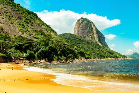 Vermelha Beach in summer, Rio de Janeiro, Brazil Standard-Bild - 146874642
