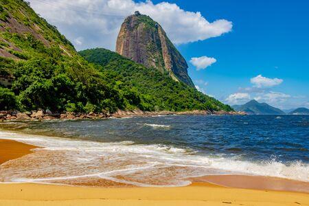 Vermelha Beach in summer, Rio de Janeiro, Brazil Standard-Bild - 146874650
