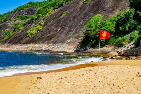 Vermelha Beach in summer, Rio de Janeiro, Brazil Standard-Bild - 146874683