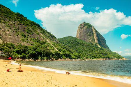 Vermelha Beach in summer, Rio de Janeiro, Brazil Standard-Bild - 146874688