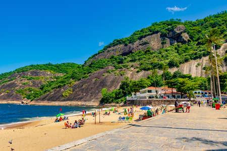 Vermelha Beach in summer, Rio de Janeiro, Brazil Standard-Bild - 146815766
