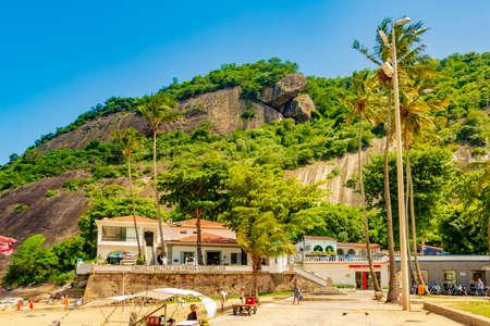 Vermelha Beach in summer, Rio de Janeiro, Brazil Standard-Bild - 146815772