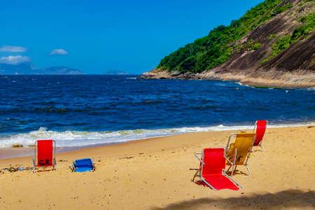 Vermelha Beach in summer, Rio de Janeiro, Brazil Standard-Bild - 146815775