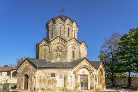 built in: katskhi church was built in XI. situated in imereti, georgia Stock Photo