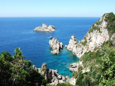 Greece, Korfu island, Paleokastritsa photo