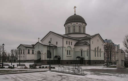 Temple in honor of the Exaltation of the Holy Cross on Timiryazev Street in Minsk