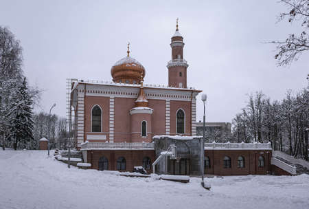 Cathedral Mosque in Minsk, the largest Muslim temple in Belarus