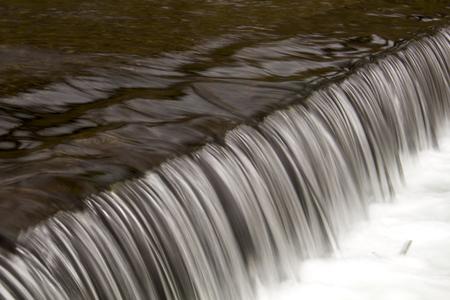 riverine: small weir on riverine