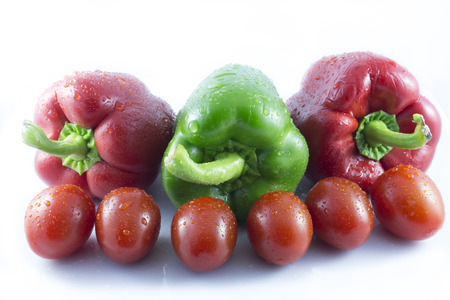 reds: reds and green peppers