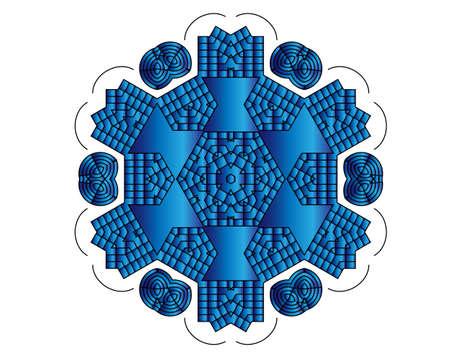blue circle: c�rculo azul
