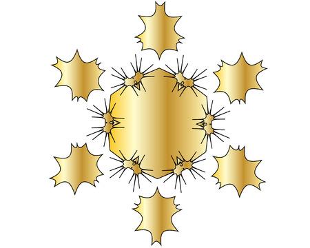 gold circle: gold circle