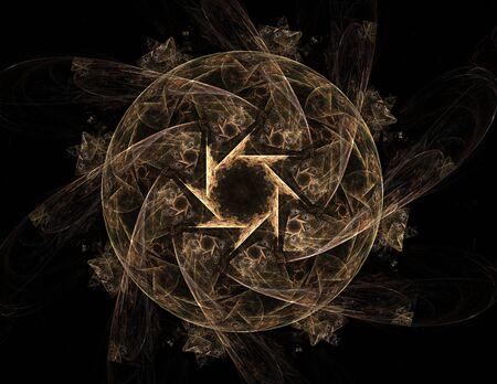 debris: Abstract shape mesh spheres. Futuristic technology style. Elegant background for business presentations. Flying debris