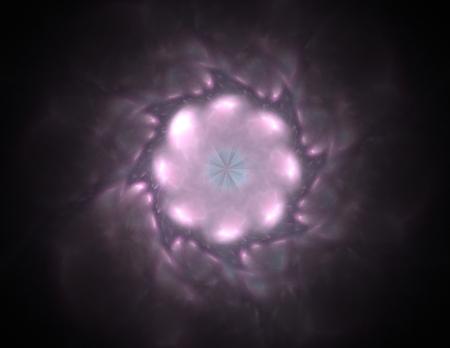 pipe dream: patr�n radial fractal sobre el tema de la ciencia, tecnolog�a y dise�o Foto de archivo