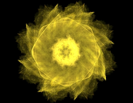 memory drugs: fractal radial pattern on the subject of science, technology and design