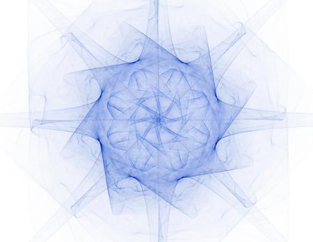 fractal radial pattern