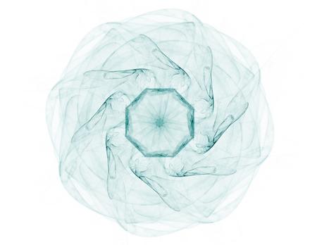 mystique: Background consists of fractal color texture Stock Photo
