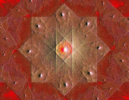 the psyche: Colorido de semitono abstractos del elemento del diseño, ilustración en forma de