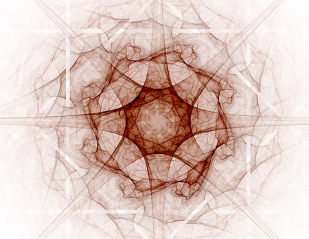 envision: fractal radial pattern