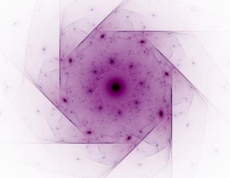 科学・技術・ デザインをテーマにフラクタル放射状パターン 写真素材