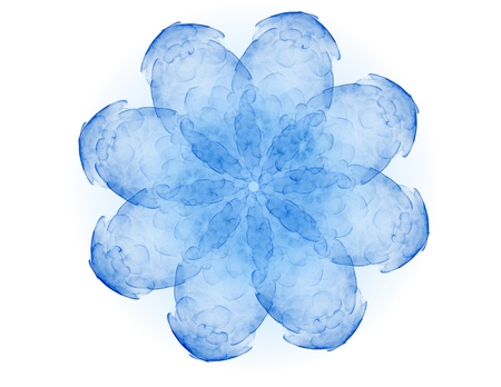 Centrepiece: fractal radial pattern