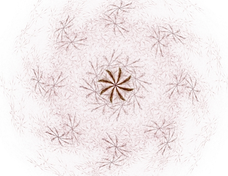 alfalfa: Abstract fractal patterns and shapes. Fractal texture for prints.