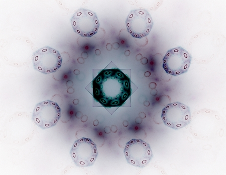 mesh: Abstract mesh spheres. Stock Photo