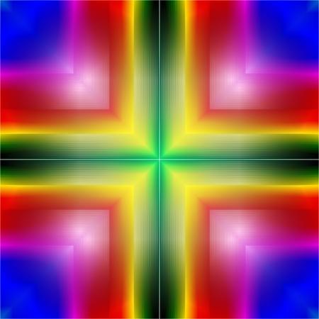 rainbow background: Background made of circular rainbow (spectrum) gradient