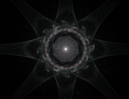 interplay: Interplay of abstract fractal form