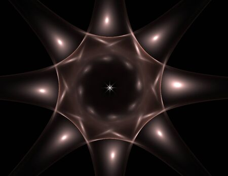 microcosm: Interplay of abstract fractal form