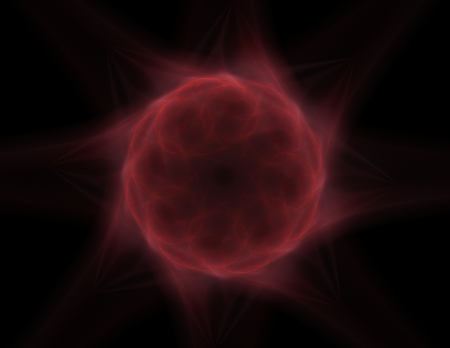 time travel: Abstract lens flare space or time travel concept background