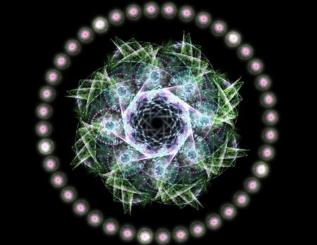 color in: Los colores de la serie, Fancy pintan. Antecedentes consiste en fractal textura de color y es adecuado para su uso en proyectos en la imaginación, la creatividad y el diseño
