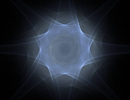 oscillation: Interplay of abstract fractal form