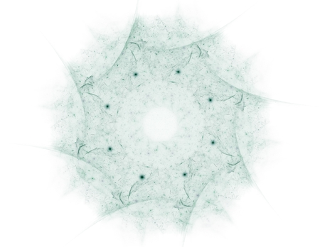 visually: Visually attractive backdrop made of conceptual grids curves and fractal