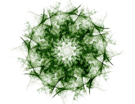 photon: Particles of abstract fractal forms on the subject of nuclear