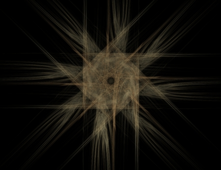 medical distribution: Particles of abstract fractal forms on the subject of nuclear