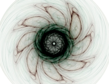 supernova: Particles of abstract fractal forms on the subject of nuclear physics