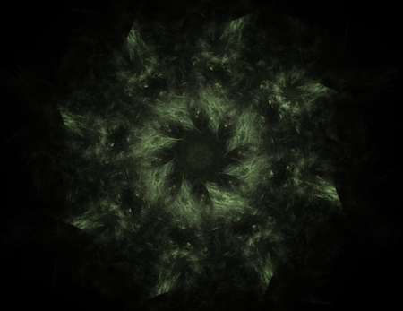 medical distribution: Particles of abstract fractal forms on the subject of nuclear physics
