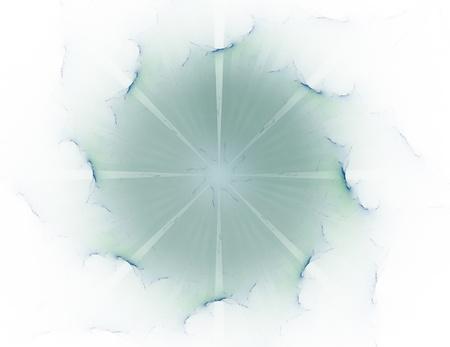 核物理学とグラフィック デザインのテーマに抽象的なフラクタル形態の粒子。ジオメトリ神聖な未来量子デジタルホロ テクスチャ開発波シュールなデザインです。 写真素材 - 75747656