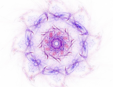 Particles of abstract fractal forms on the subject of nuclear physics