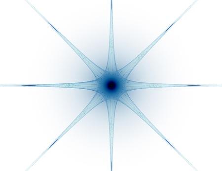 カラフルな光るニューロン フラクタル 写真素材 - 88550909
