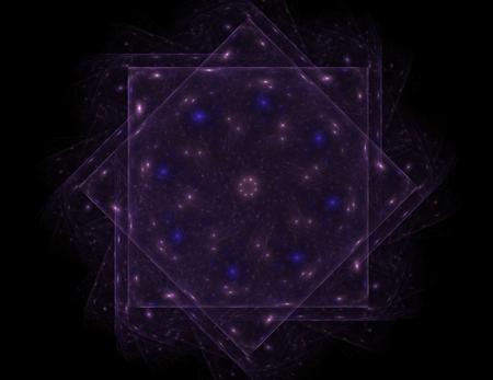 カラフルな光るニューロン フラクタル 写真素材 - 89266079