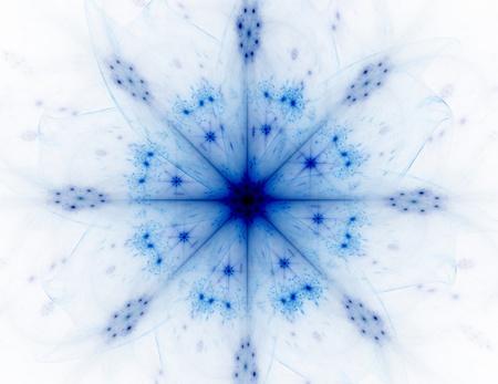 과학 기술 및 디자인의 주제에 프랙탈 방사형 패턴 스톡 콘텐츠