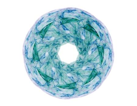 カラフルな輝くニューロンフラクタル 写真素材 - 95298475