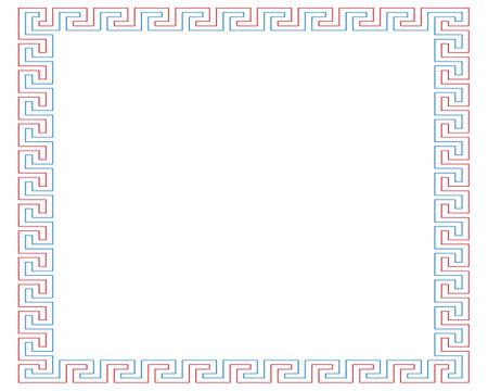 Colourful picture frame on the white wallpaper. Archivio Fotografico - 133516878