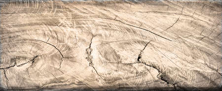 Cracked wood board. Old rustic red wood background, wooden surface with copy space