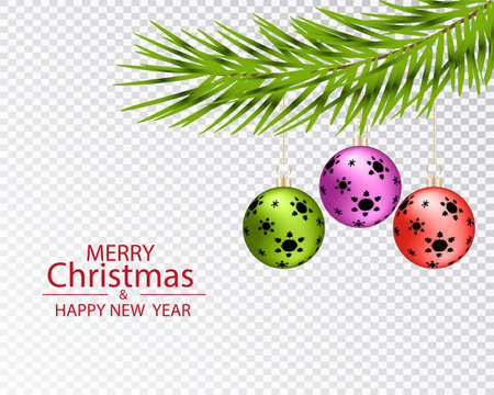 Christmas greeting card template. Christmas background pattern for further use.