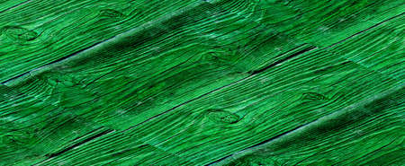 Vintage green wood panel fine arranged as wall for interior design and exterior decoration Archivio Fotografico